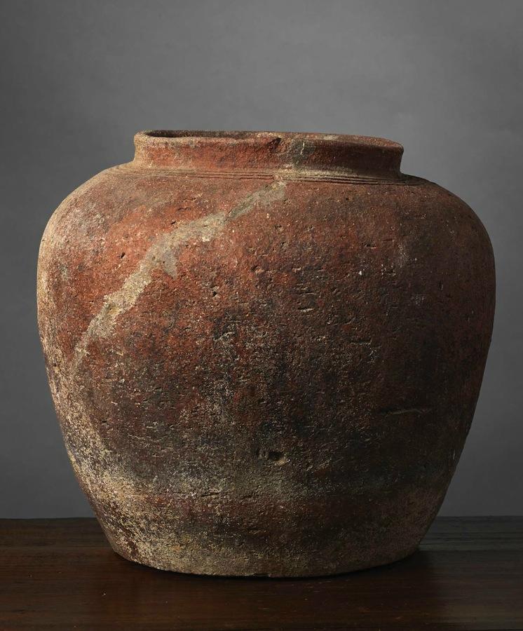 Pot passoire, Vietnam, Culture de Đông Sơn, ca 500 BCE-100 BCE
