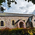 Les origines de l'église du graal de tréhorenteuc (saint eutrope, sainte onenne, l'abbé gillard)
