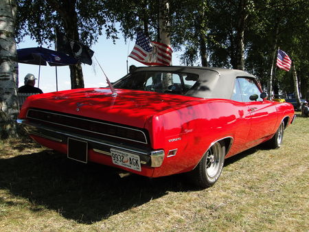 FORD Torino GT Convertible 1971 Concentration de Vehicules Americains Ohnenheim 2011 2