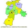 Quelles sont les communes de la cc4v?