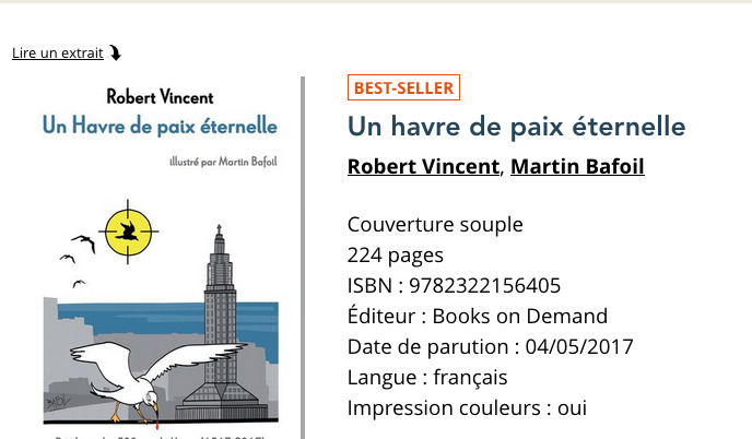 UN Havre best-seller