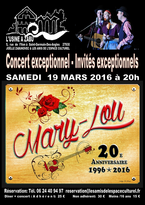 Lonesome Day invité par Mary-Lou