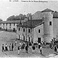 Les casernes de villeurbanne en 1914