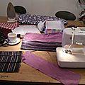 Café couture à la petite fabrique : housse de coussin