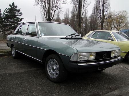 PEUGEOT 604 V6 SL 1976, Retrorencard 1