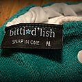 Test couche lavable : la bitti d'lish snap in one (sio) de itti bitti