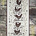 Sal en prévision: l'abc du poulailler d'isabelle vautier