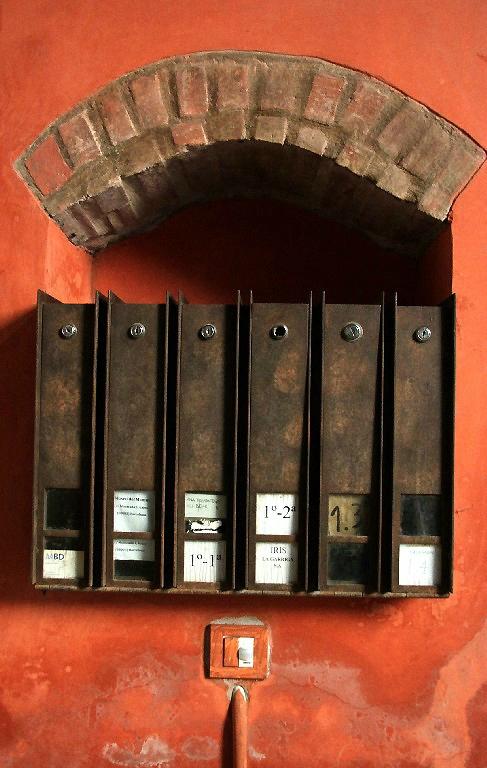 7-Barcelone -La Ribera,, boites aux lettres_6004