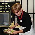 Ginette en cuisine