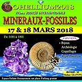 Evenement: gohellium2018, 17ème bourse internationale mineraux-fossiles