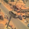 L'armée patrouille à Yaoundé (26 février 2008)