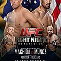 Ufc fight night 30: live stream à partir de 18h00 en france