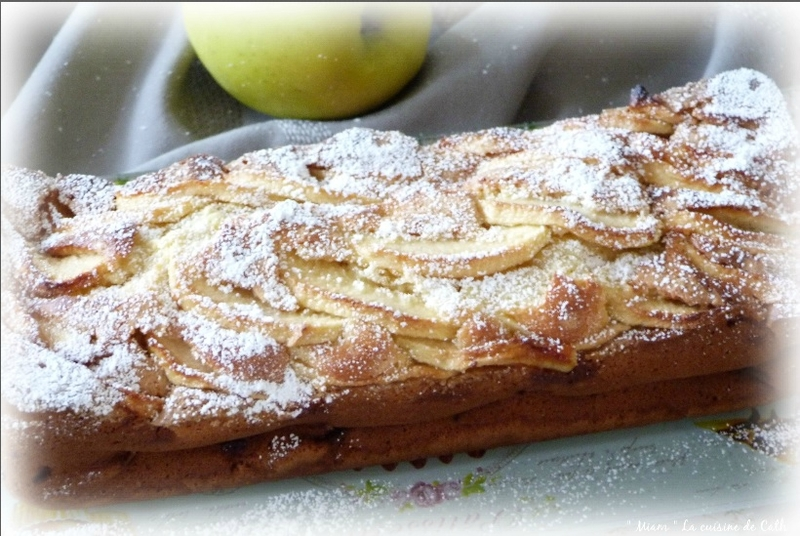 Cake mascrpone pomme
