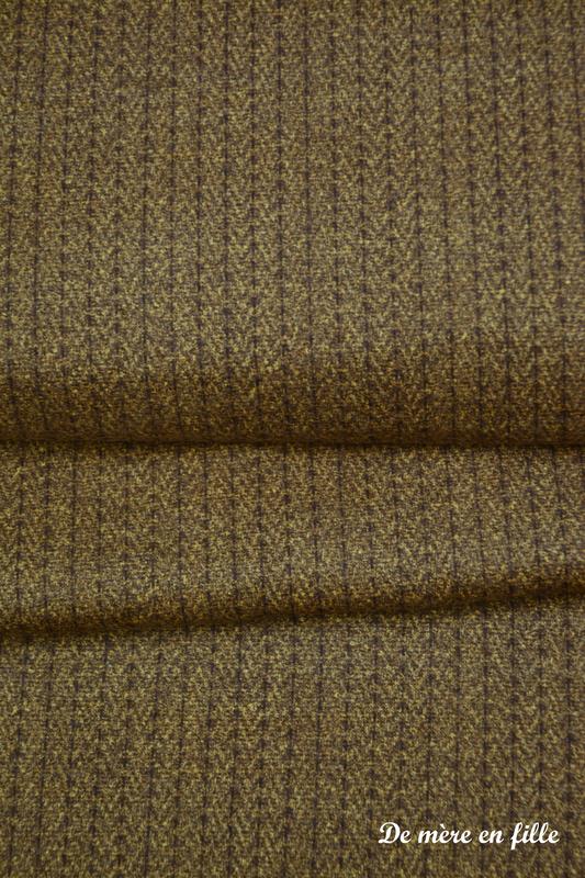 marron lignes et chevrons
