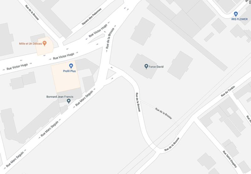rue la Brosse, plan (2)