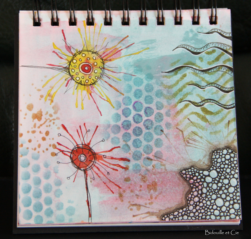 art journal gribouille 9