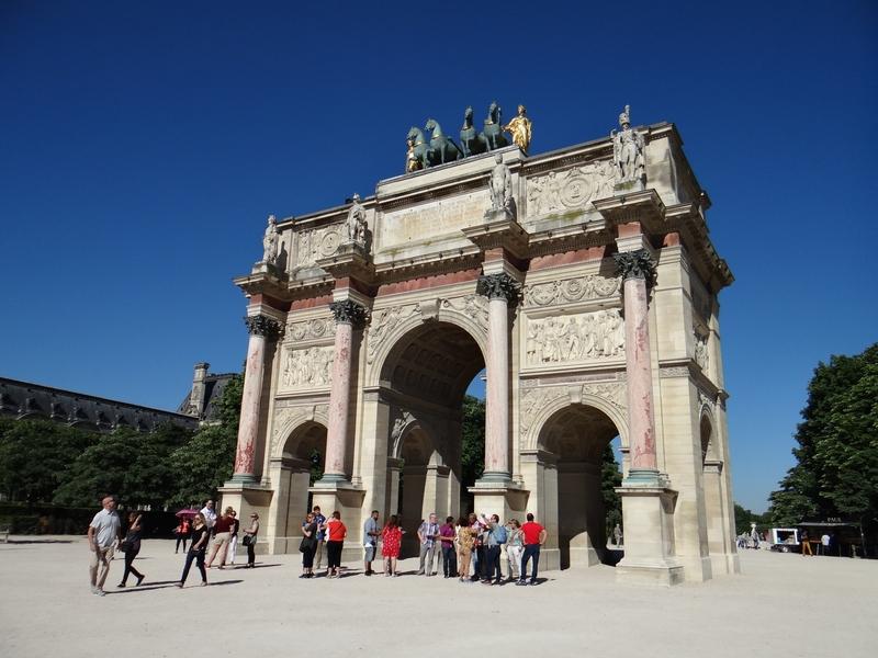 L'arc du Jardin des Tuileries