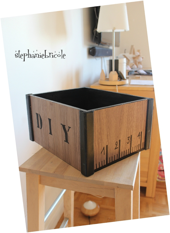 diy utiliser des feuilles de placage bois en d co st phanie bricole. Black Bedroom Furniture Sets. Home Design Ideas