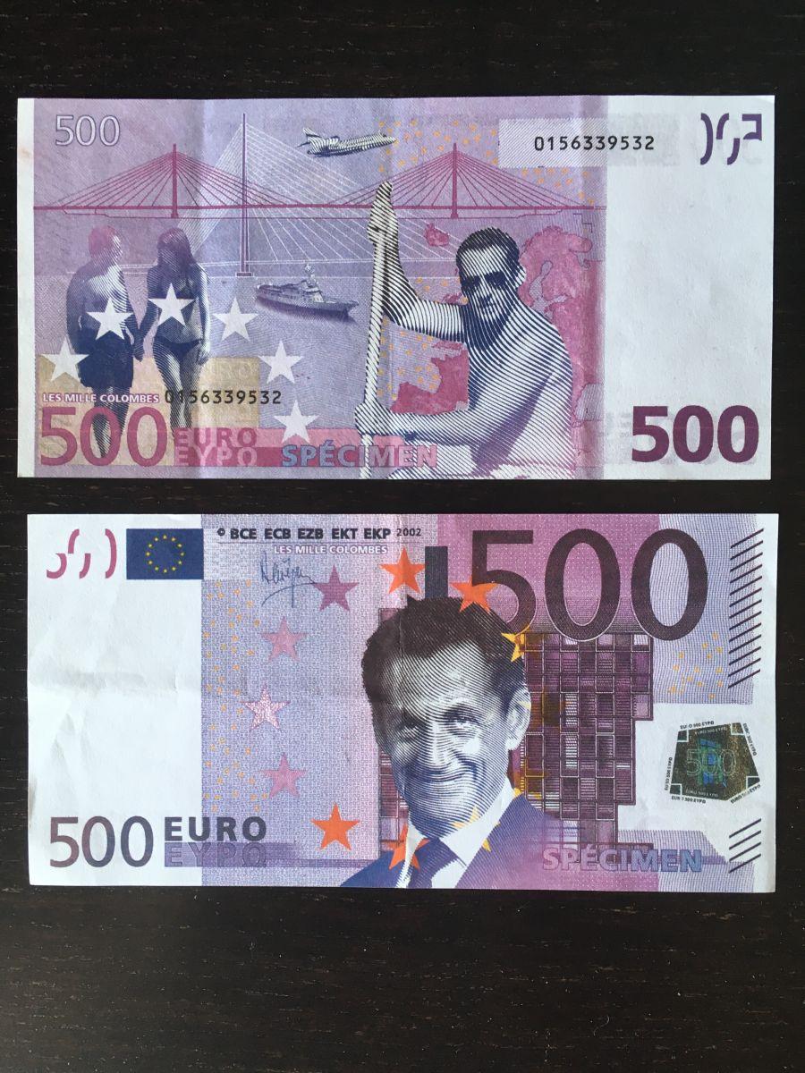 Sarkozy : l'homme 500 !
