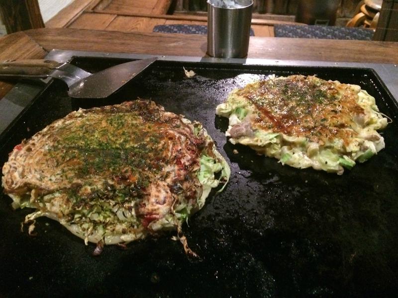 les okonomiyakis