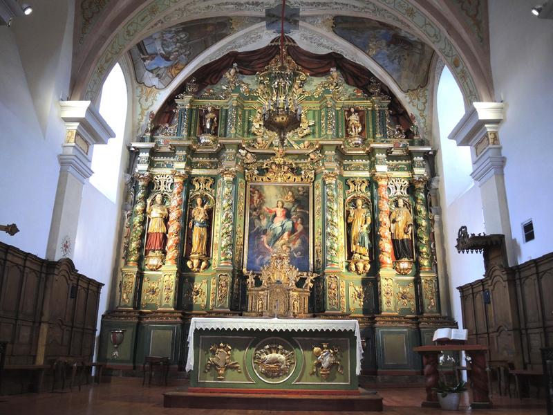 Cordon, église Notre-Dame-de-l'Assomption, retable (74)