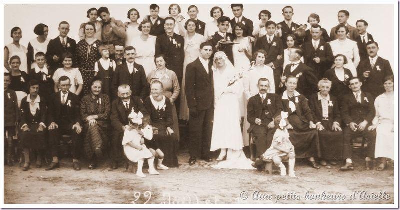 Le mariage au début du siècle (12)