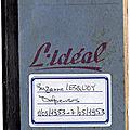Les comptes de ma mère suzanne lesquoy: carnet n°26 du 1er mars au 7 mai 1953
