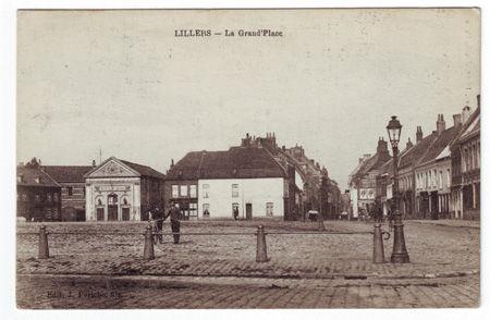 62 - LILLERS - La Grande Place
