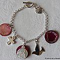 Bracelet pour une Première Communion - 105 €