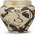 A painted 'Cizhou' jar, Yuan dynasty (1279-1368)