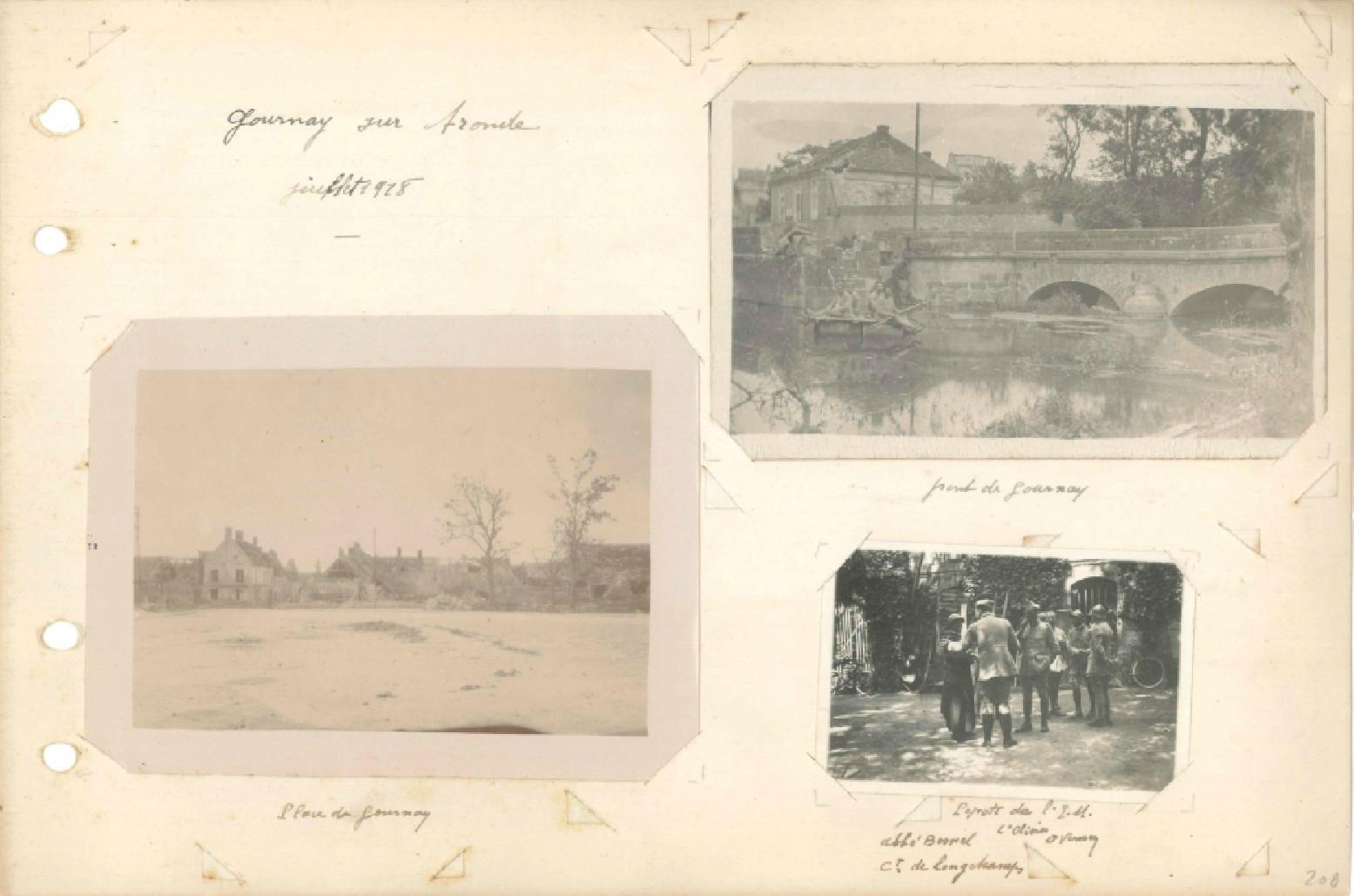 p.208 Offensive sur l'Aronde et le Matz 24e RI (21 juin – 8 septembre 1918)