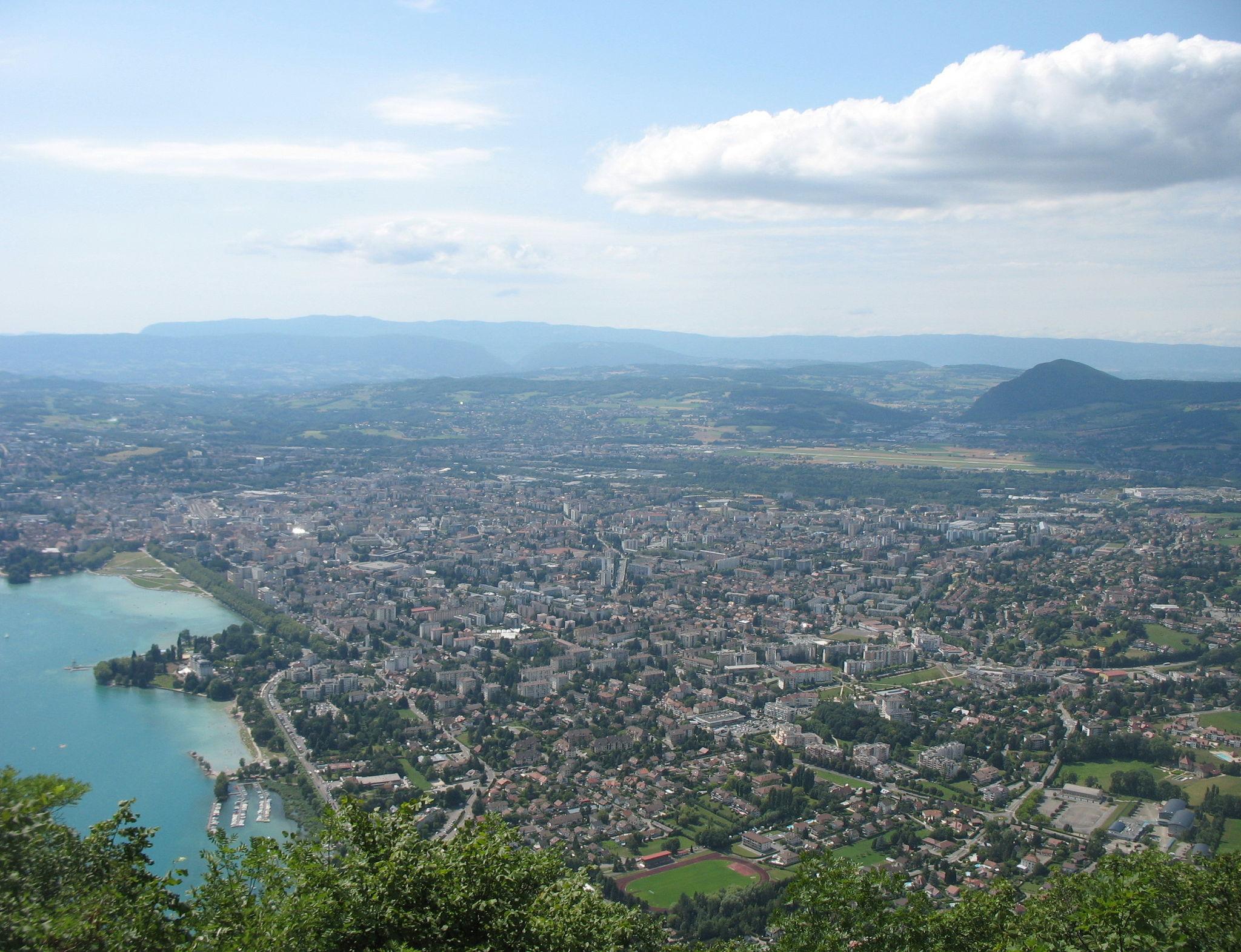 Mont Veyrier, vue sur Annecy (74)