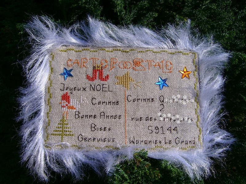 carte postale de Geneviève