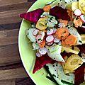 Pickles de légumes de printemps