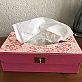 Dfea : une boîte à mouchoirs très fille !