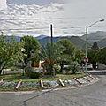 Rond-point à guadalupe (mexique)