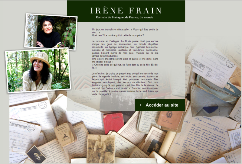 IRENE FRAIN - SITE OFFICIEL