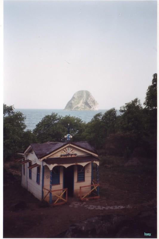 Martinique Rocher du Diamant et la maison du Bagnard