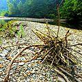 flot passé sur sculpture plage yurtao