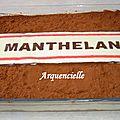 Gâteau Panneau de signalisation, entrée de ville tiramisu
