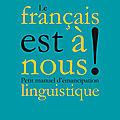 Le français est aux gros manches