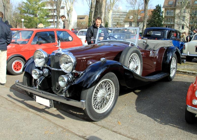 Alvis speed 20 tourer de 1935 (Retrorencard mars 2011) 01