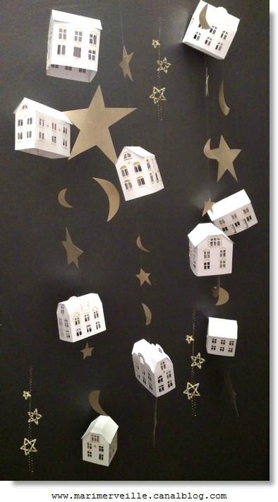 guirlande marimerveille petites maisons aux étoiles