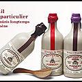 Vinaigre d'alcool blanc - vinaigre de vin de xérès - vinaigre de vin affiné fût de chêne - pommery - les assaisonnements briards