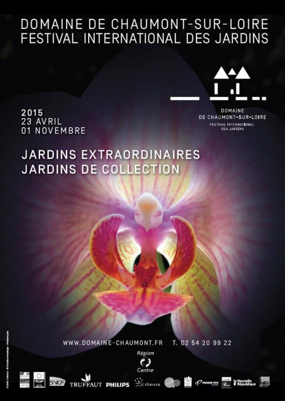 Affiche 2015 du Festival des Jardins de Chaumont