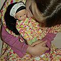 Calendrier de l'avent des poupées chéries : jour 2