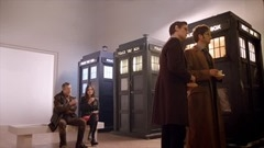 les trois TARDIS