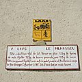Laàs, panneau tourisme (64)
