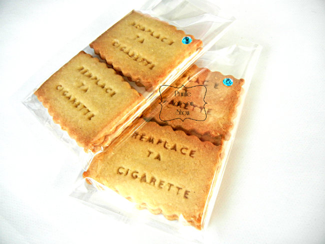 biscuits personnalisés emballage par 4 prunillefee