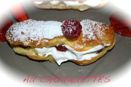 ECLAIR CHANTILLY FRUITS ROUGES 6